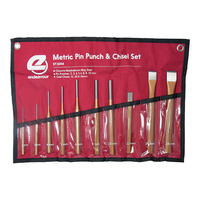 Pin Punch & Cold Chisel Kit
