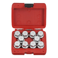 Locking Wheel Nut Socket Set